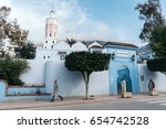 chefchaouen  morocco   january... | Shutterstock . vector #654742528