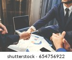 business man deal. business... | Shutterstock . vector #654756922