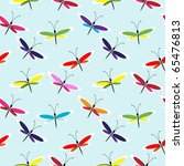 Seamless Butterfly Pattern Wit...