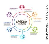 modern infographic options... | Shutterstock .eps vector #654770572