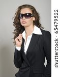 attractive young business lady. ... | Shutterstock . vector #65479522