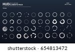 set of circle elements for a...