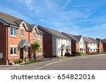 modern english street view | Shutterstock . vector #654822016