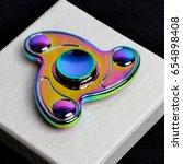 Rainbow Colored Finger Spinner