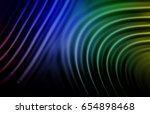 colorful ripple background | Shutterstock . vector #654898468