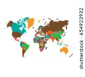world map vector  world map