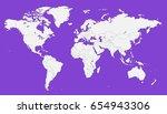 world map vector.   Shutterstock .eps vector #654943306
