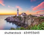 Portland  Maine  Usa At...