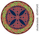 celtic cross design element   Shutterstock .eps vector #65499145