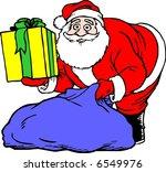 santa claus | Shutterstock .eps vector #6549976