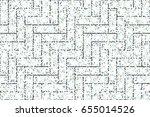 colorful mosaic herringbone... | Shutterstock . vector #655014526