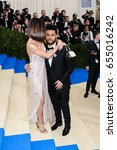 selena gomez and the weeknd... | Shutterstock . vector #655016242