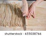 horizontal indoors crop shot of ... | Shutterstock . vector #655038766