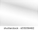 abstract halftone dotted... | Shutterstock .eps vector #655058482