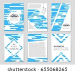 abstract vector layout... | Shutterstock .eps vector #655068265