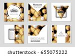 abstract vector layout... | Shutterstock .eps vector #655075222