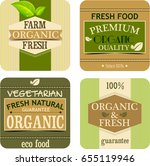 farm fresh banners | Shutterstock . vector #655119946