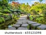 Stony Foot Path In Japanese...