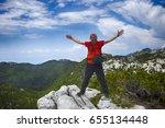 zagreb  croatia   june 07  2017.... | Shutterstock . vector #655134448