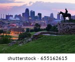 view of kansas city  missouri... | Shutterstock . vector #655162615