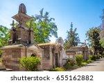 santiago  chile   november 11 ... | Shutterstock . vector #655162882
