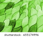 bright green background of... | Shutterstock . vector #655174996