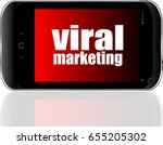 viral marketing. mobile smart...