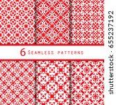 vintage pattern graphic design | Shutterstock .eps vector #655237192