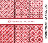 vintage pattern graphic design | Shutterstock .eps vector #655237222