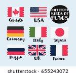 vector cartoon funny... | Shutterstock .eps vector #655243072