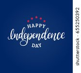 happy independence day of... | Shutterstock .eps vector #655250392