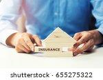 property insurance | Shutterstock . vector #655275322