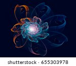 Abstract Cosmic Flower ...