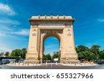 bucharest  romania   may 24 ... | Shutterstock . vector #655327966