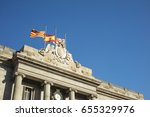 Detail Of Facade Of Barcelona'...
