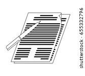 signature of documents.realtor... | Shutterstock .eps vector #655332796