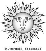 slavic sun   Shutterstock . vector #655356685