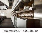 professional kitchen  view... | Shutterstock . vector #655358812