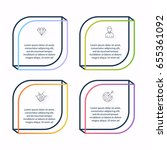 vector info graphics for your... | Shutterstock .eps vector #655361092