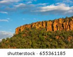 waterberg plateau and the... | Shutterstock . vector #655361185