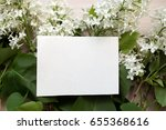 blank piece of paper on the... | Shutterstock . vector #655368616
