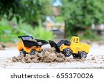 Truck Toy Car With Sand And...