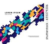 modern graphic design elements. ... | Shutterstock .eps vector #655379206