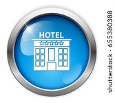 hotel icon | Shutterstock .eps vector #655380388