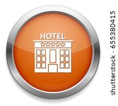 hotel icon | Shutterstock .eps vector #655380415