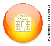 hotel icon | Shutterstock .eps vector #655380595