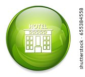 hotel icon | Shutterstock .eps vector #655384558
