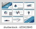 infographic brochure elements... | Shutterstock .eps vector #655415845