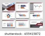 infographic brochure elements... | Shutterstock .eps vector #655415872