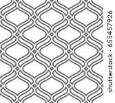 vector seamless pattern. modern ... | Shutterstock .eps vector #655457926